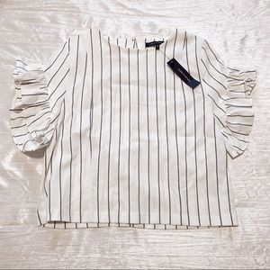 Supply & Demand Striped Top
